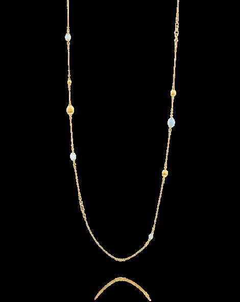 Nanis Aquamarine Sautoir Necklace