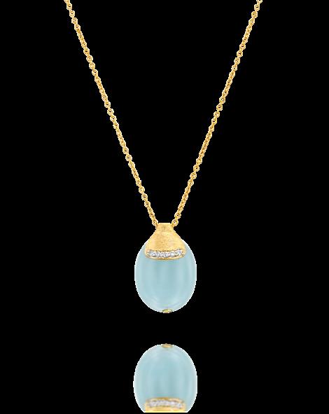 Nanis Aquamarine Necklace