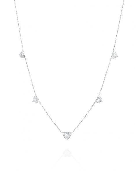 Jovane Multi Heart Necklace
