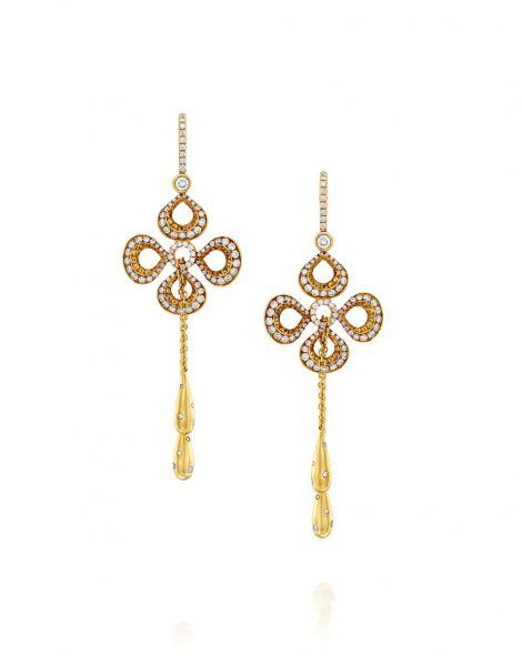 Violetto Drop Earrings