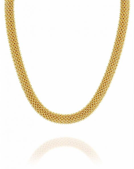 Gold By Padani Braided Necklace