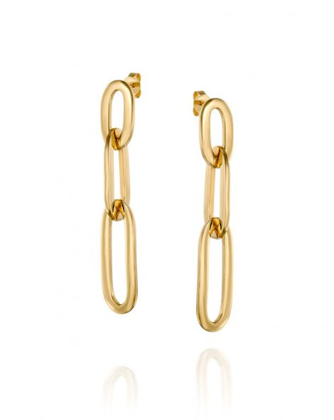 Gold By Padani Link Earrings