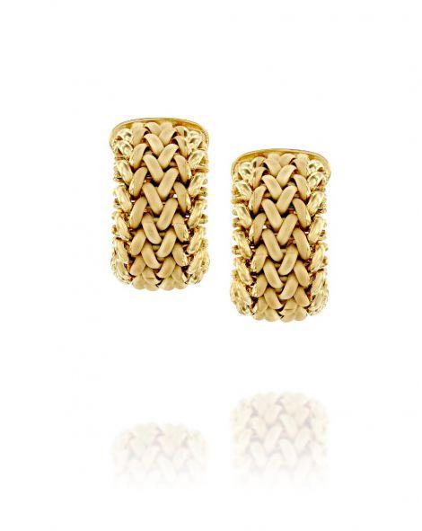 עגילי זהב Gold By Padani