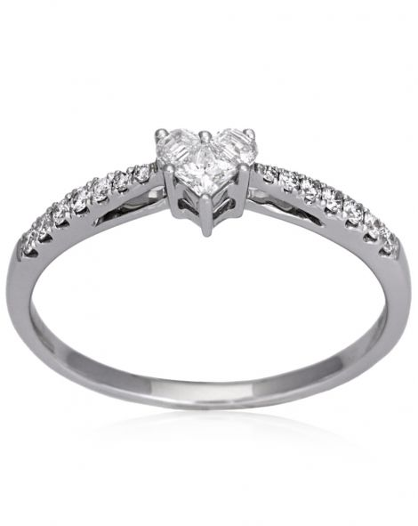 Lady Heart Ring