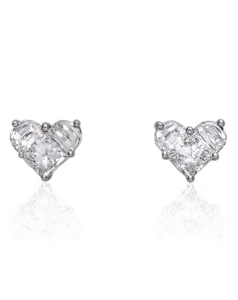 Lady Heart Classic Earrings