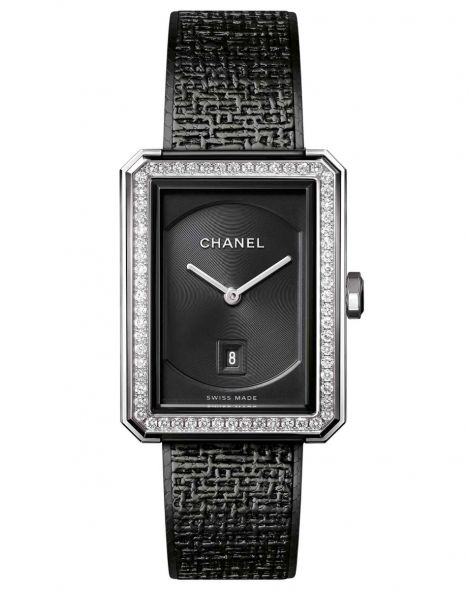 CHANEL BOY·FRIEND TWEED Watch
