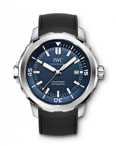 """IWC AQUATIMER AUTOMATIC EDITION """"EXPEDITION JACQUES-YVES COUSTEAU"""" Watch"""