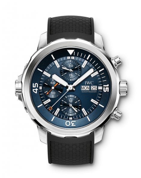 """IWC AQUATIMER CHRONOGRAPH EDITION """"EXPEDITION JACQUES-YVES COUSTEAU"""" Watch"""