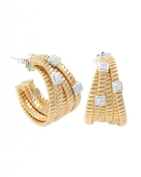 K di Kuore Hoop Earrings