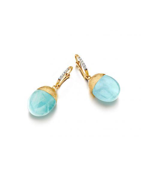 Nanis Aquamarine Earrings