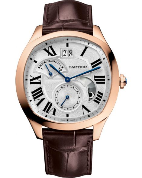 Drive de Cartier watch, Large Date, Retrograde Second Time Zone and Day/Night Indicator