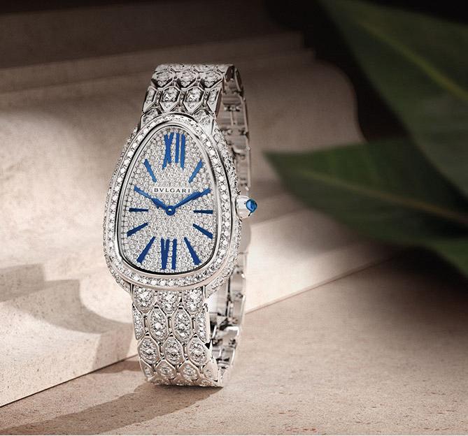 Bulgari Gold & Diamond Watches