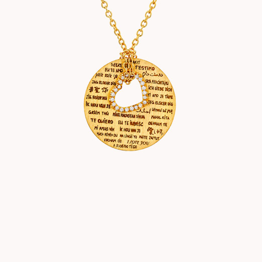 Love & Friendship Pendant